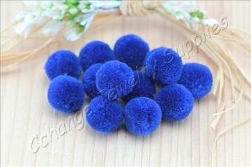 handmade-cotton-pompoms-dark-blue