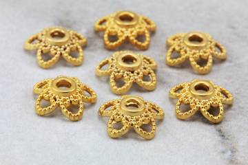 gold-plated-metal-star-shape-bead-caps