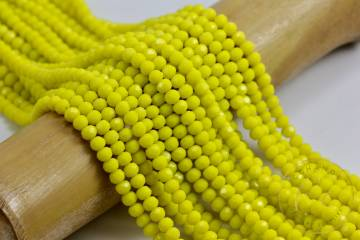 crystal-glass-beads-neon-yellow-colour