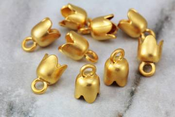 gold-plated-tulip-shape-end-caps